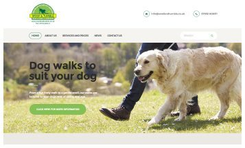 Woof and Tumble - Sheffield Website Designers