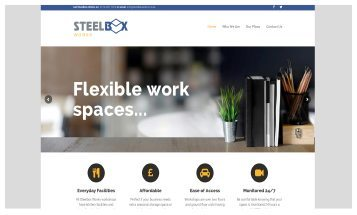 Steelbox Works - Sheffield Website Designers