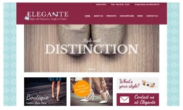 Elegante - Sheffield website Designers