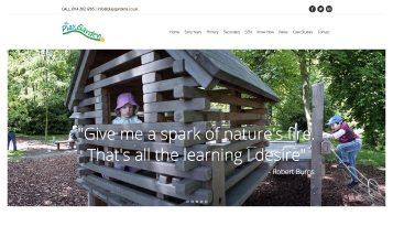 Playgarden - Sheffield website Designers