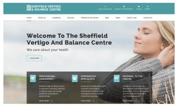 Sheffield Balance - Sheffield website Designers