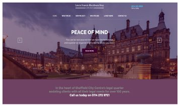 LFBB Solicitors - Sheffield Website Designers
