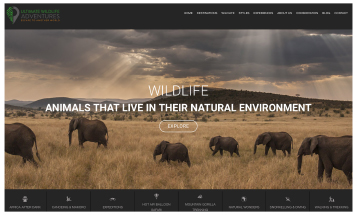 Ultimate Wildlife Adventures - Sheffield Website Designers