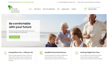 Your Choice POA - Sheffield Website Designers