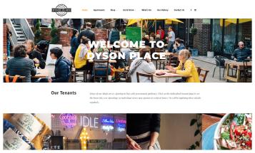 Dyson Place Sheffield Website Live